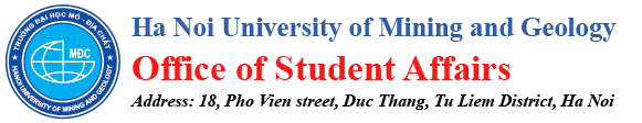 Department of Student Affairs | Ha Noi University of Mining and Geology
