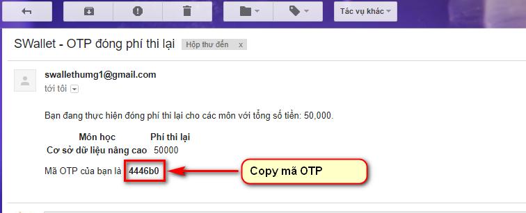 mã OTP